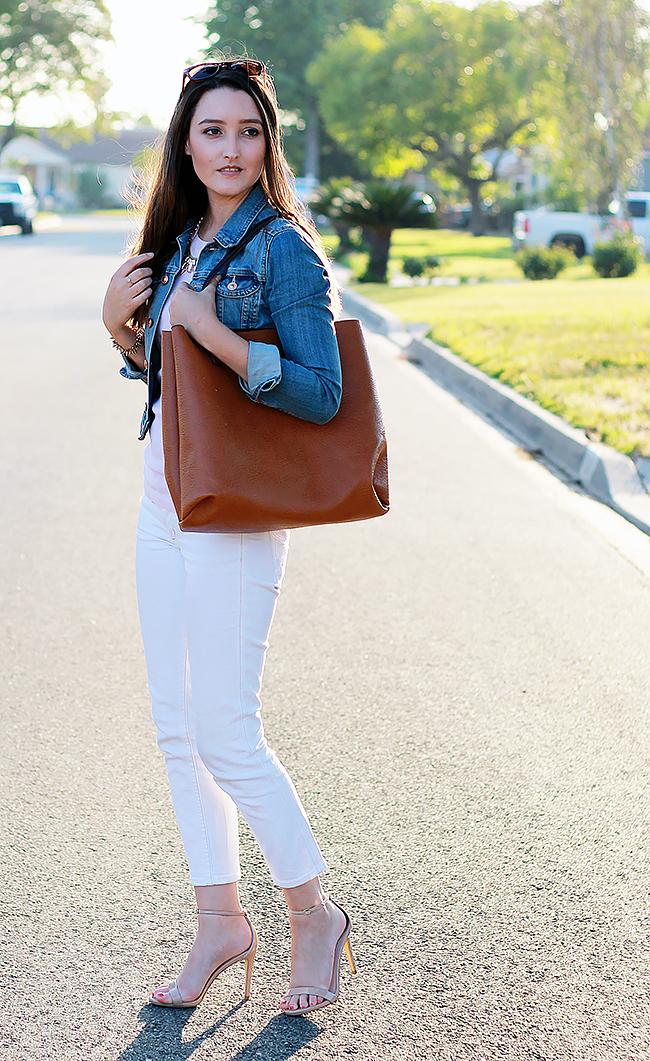 White Skinny Jeans A Good Hue
