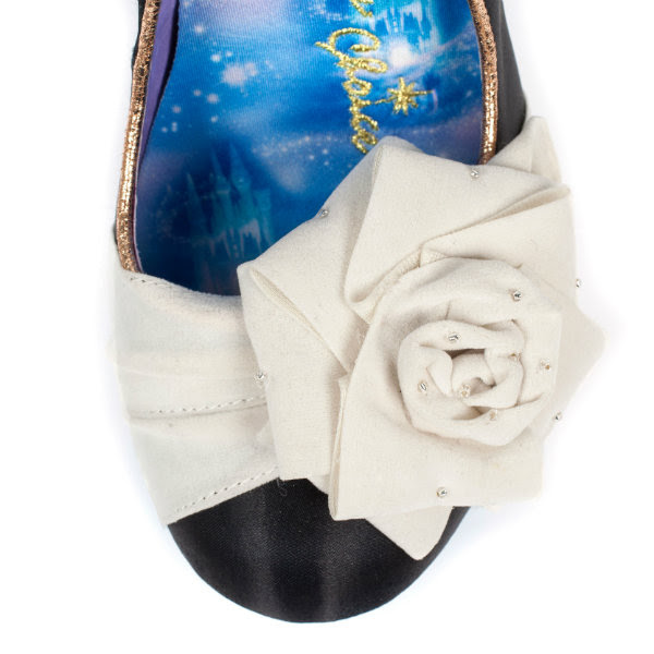 irregular choice cinderella Bibiddi Bobbidi toe rose detail