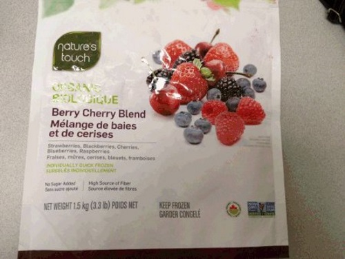Product Recall Nature's Touch Organic Berry Cherry