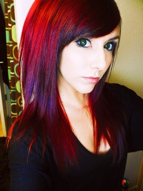 Red Violet Hair Color Omg Inspiring Ideas Hairstyles