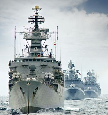 Indian-Naval-Warships