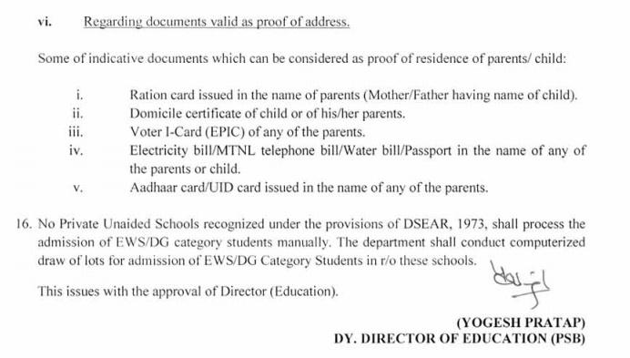 Nursery Admission Delhi 2019 - 2020: Schedule of Dates