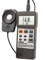 Contoh Light Meter untuk mengukur besarnya paparan cahaya