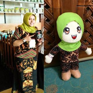 Bikin Boneka Maskot