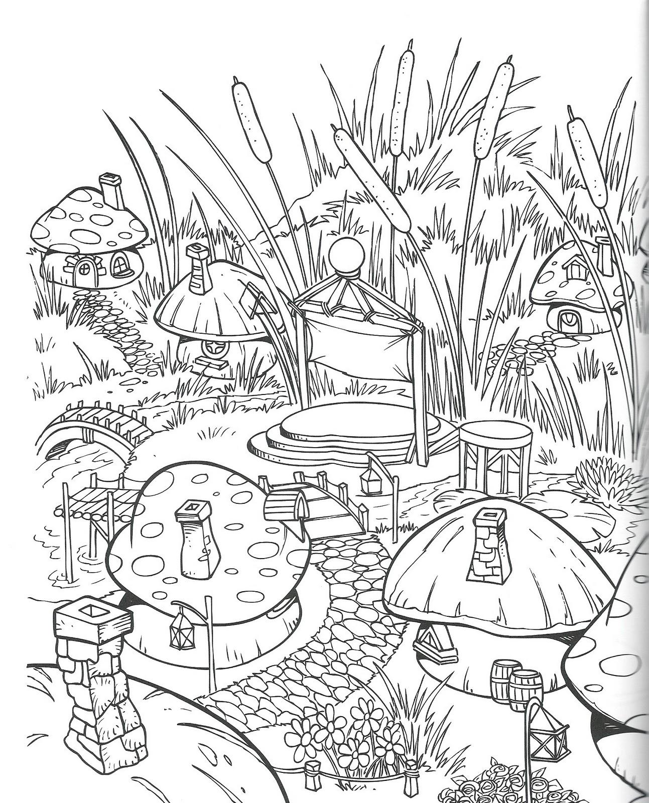 disegni da colorare: I PUFFI 3D (parte 2) I PERSONAGGI DEL ...