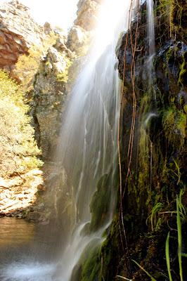 Cortina de agua Hoz de Carboneros
