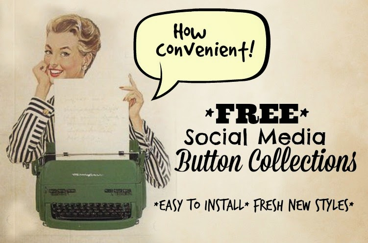 Free Social Media Buttons for your Blog