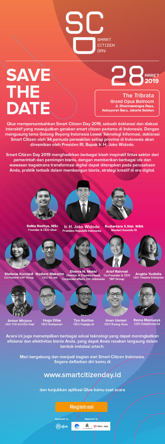 Hadiri Smart Citizen Day 28 Maret 2019