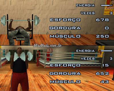 gta sa mod bodybuilder realistic gym academia