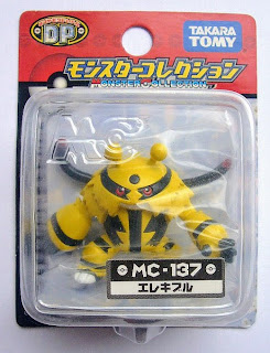 Electivire figure Takara Tomy Monster Collection MC series