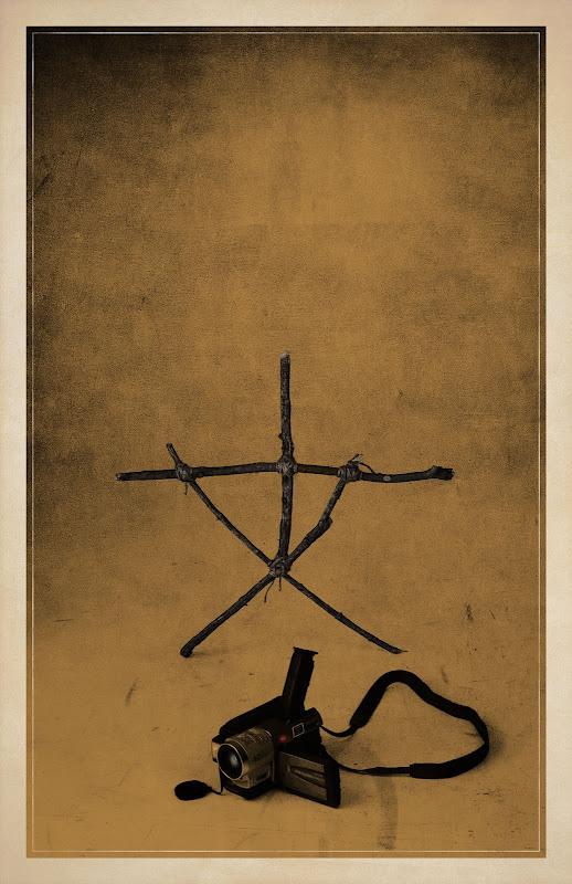 A Bruxa de Blair - The Blair Witch Project minimalista