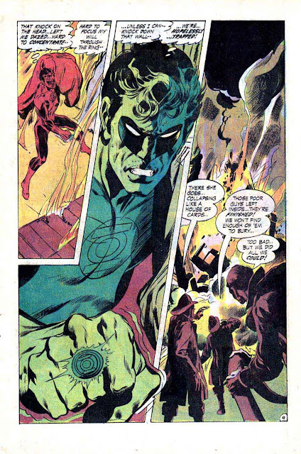 Green Lantern Green Arrow #79 dc comic book page art by Neal Adams