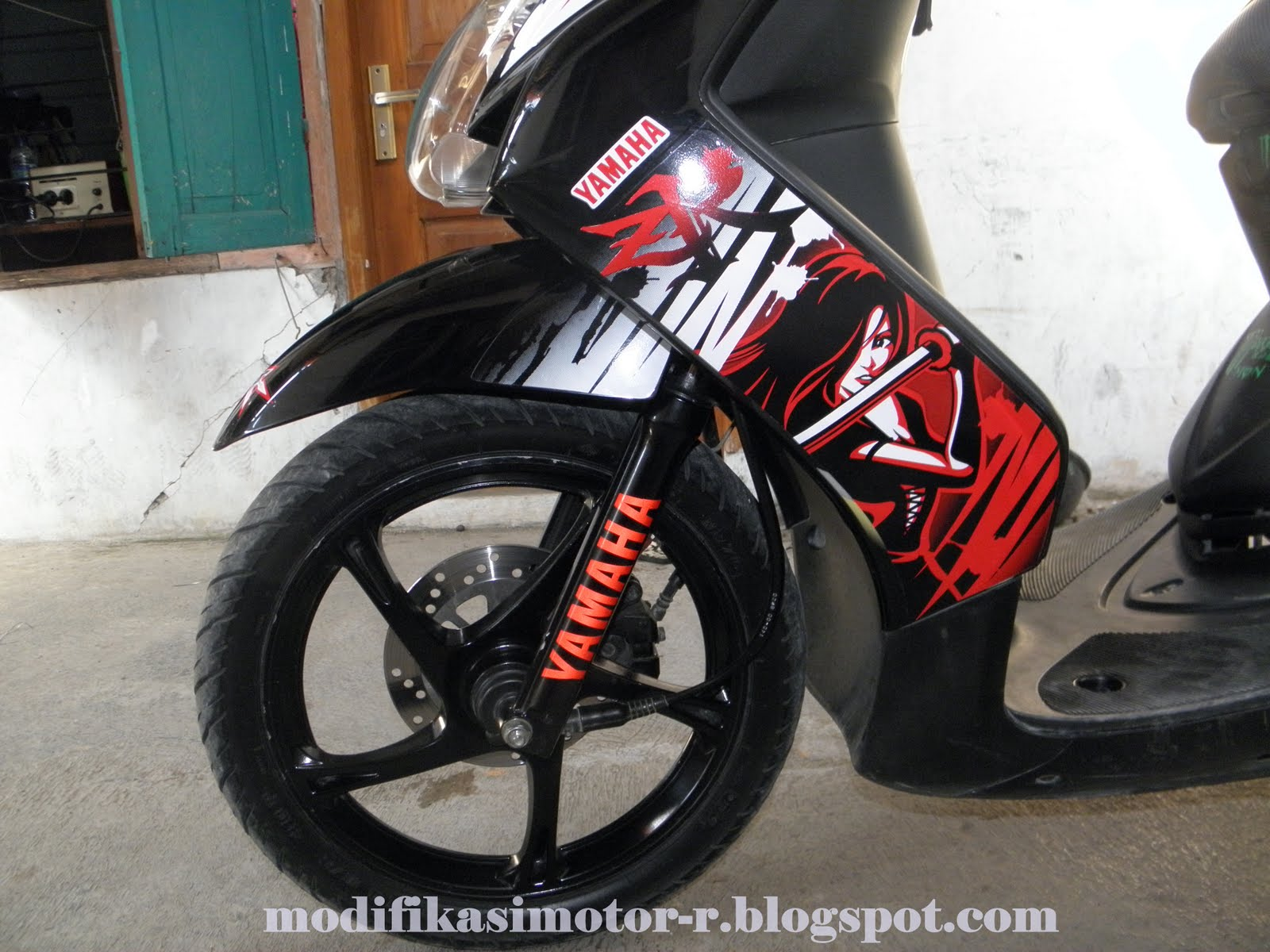 Modifikasi Motor-R