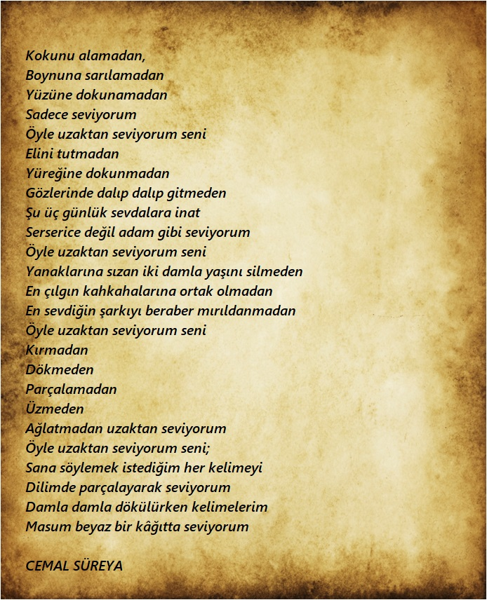 aşk şiirleri