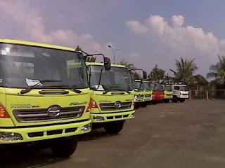 Carter truk, Sewa truk, Trucking antar pulau antar provinsi di Bandung