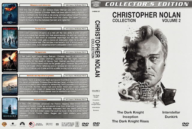 Christopher Nolan Collection - Volume 2 DVD Cover
