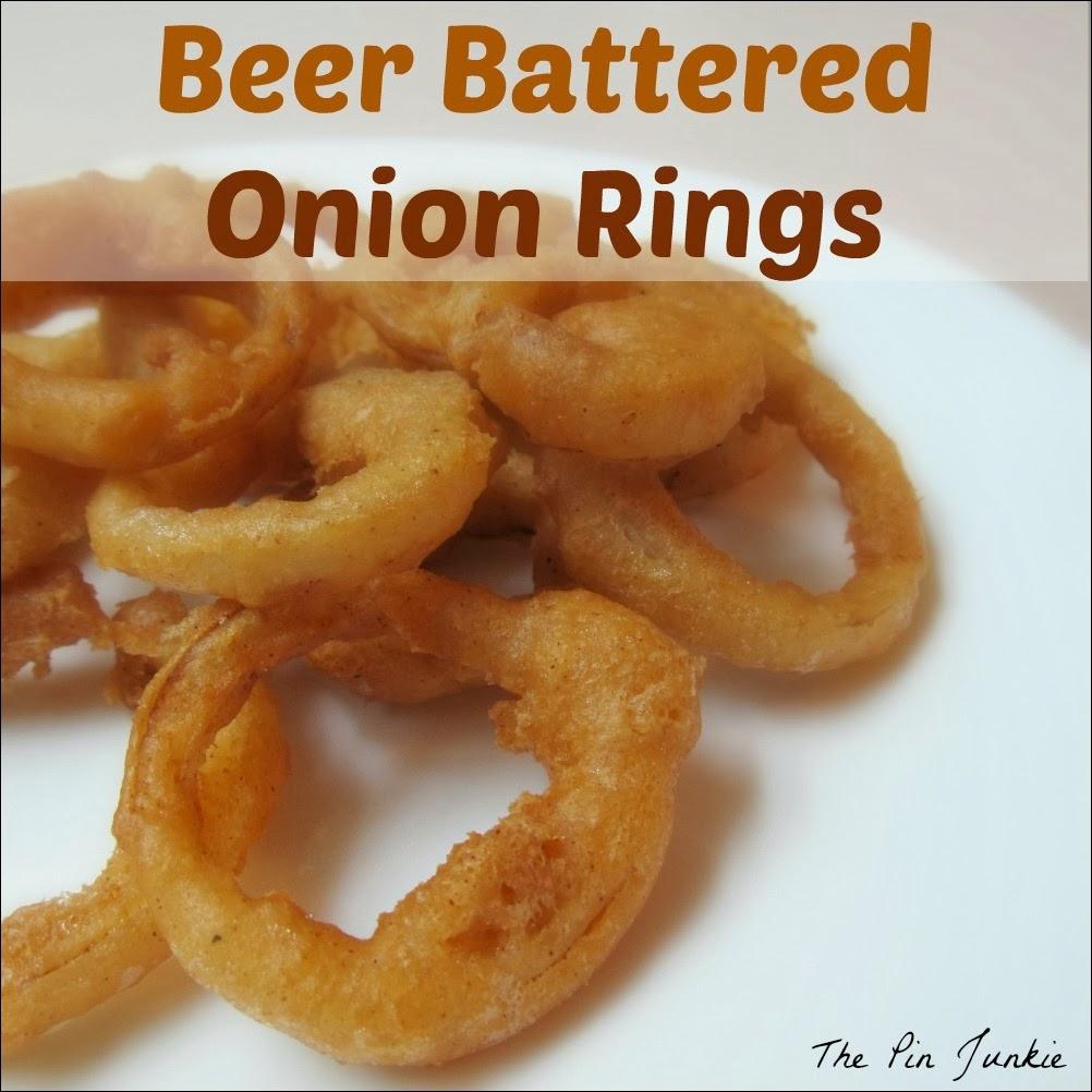 beer battered onion rings