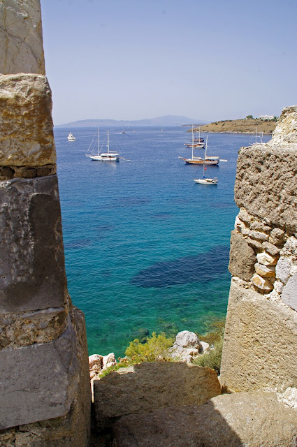 Beautiful Water Views from Bodrum Castle