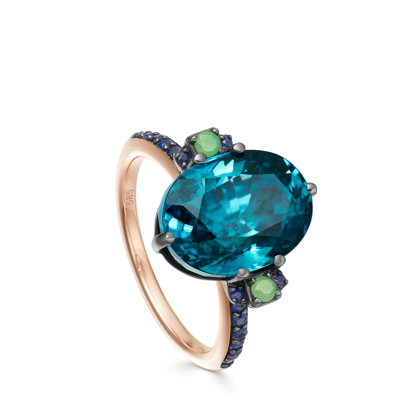 Astley Clarke Zircon Ring - British luxury jewellery - UK style blog