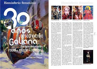 imagen del artículo de Carmen Peláez: 30 años descendiendo Galiana