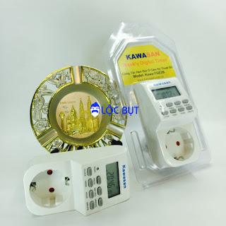 Timer điện tử điều khiển thiết bị nhà yến