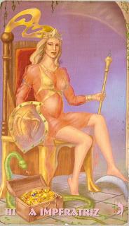 Resultado de imagem para tarot mistico imperatriz