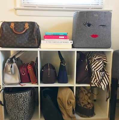 handbags-decor-room decor-organization