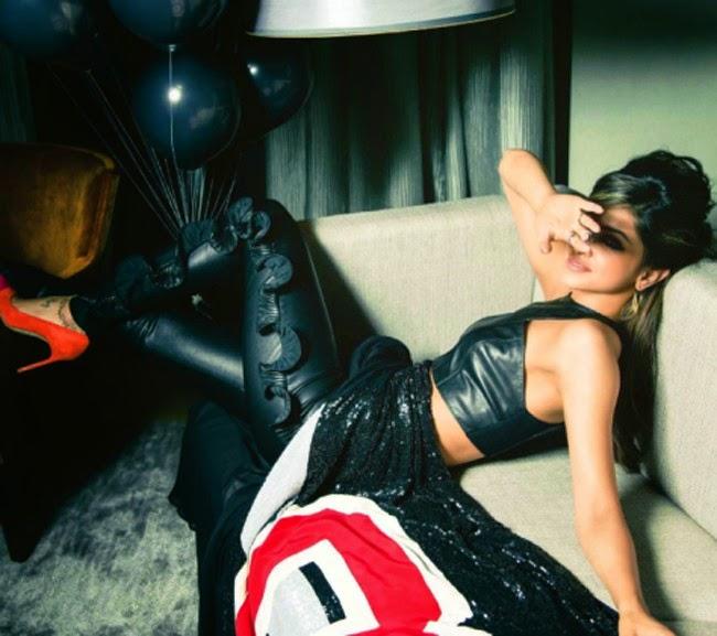 Deepika Padukone's Hot Photo shoot for Vogue | TellyTamasha