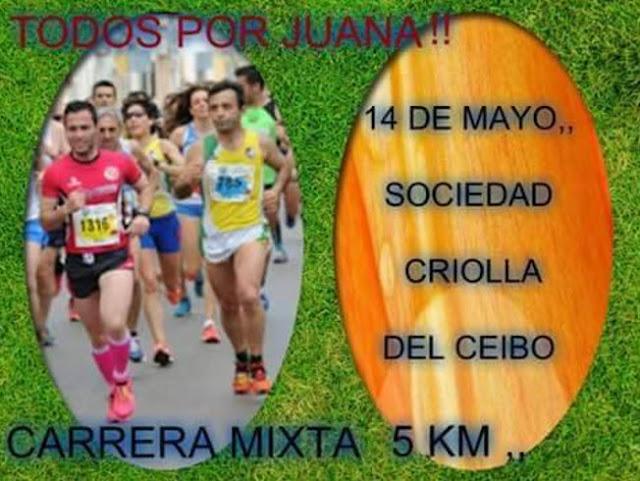 5k Todos por Juana en Sociedad criolla del ceibo (Maldonado, 14/may/2017)