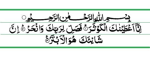 Benefits & rewards of Recitation of Surah Al kausar
