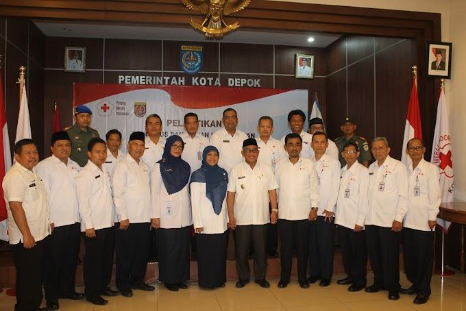 Pengurus PMI Kota Depok Periode 2017-2022 Dilantik