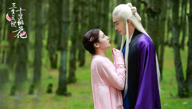 Dilireba and Gao Weiguang in Three Lives Three Worlds