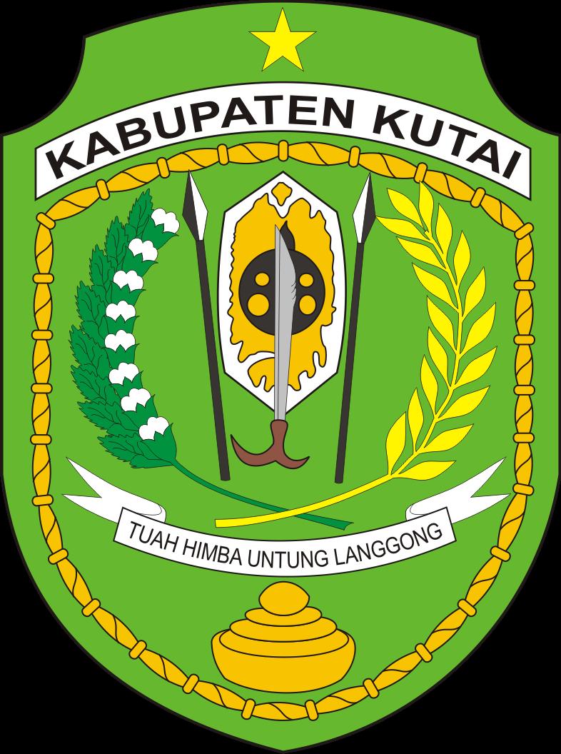Logo Lama Kabupaten Kutai Provinsi Kalimantan Timur Logo Lambang Indonesia
