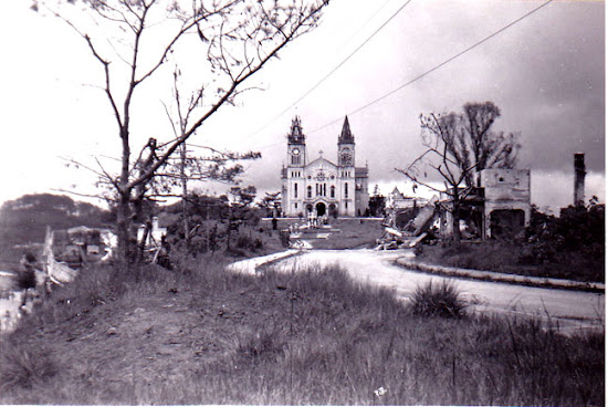Baguio Cathedral During World War 2