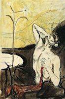 La flor del dolor, por Munch