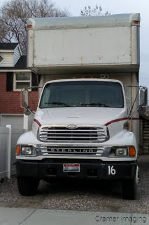 Photo of a private company's moving truck by Cramer Imaging