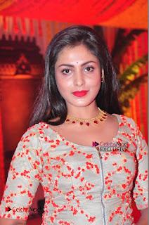 Actress Madhu Shalini Exclusive Stills in Party Dress at Vijay Karan Aashna Wedding  0026.JPG