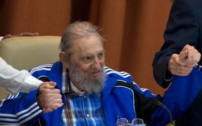 Discurso de Fidel no Congresso do Partido Comunista de Cuba em 19/4/2016