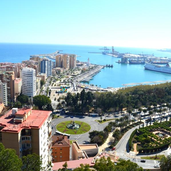 Málaga v sliki