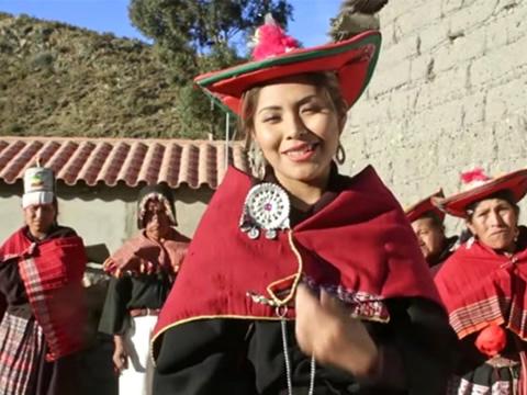 Critican en redes el VIDEO de YARITA LIZETH YANARICO grabado en Tarabuco