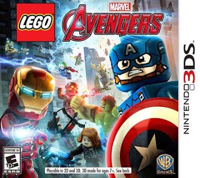 LEGO Marvel's Avengers Decrypted 3DS EUR