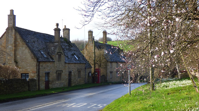 The tiny hamlet of Ford, Cotswolds