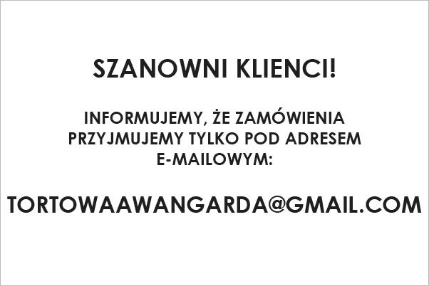 Artystyczne Torty na zamówienie Warszawa urodziny chrzest komunie ślub wesele wedding