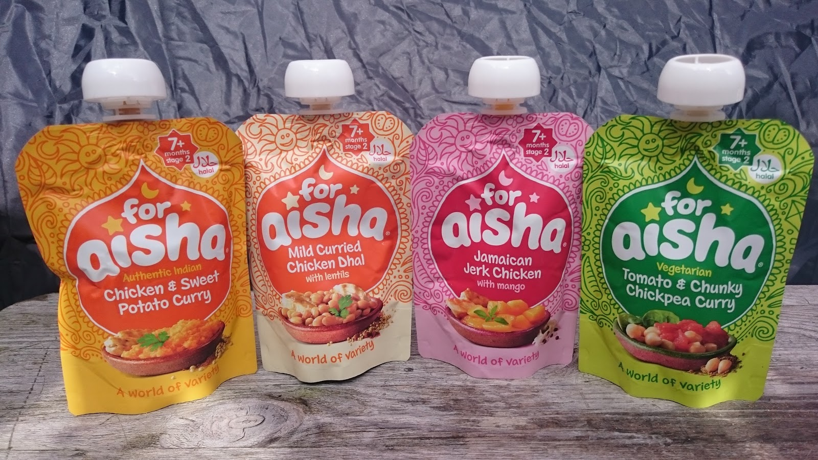 Halal Mama For Aisha Halal Baby Food Pouches