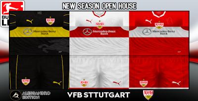 PES 6 Kits VfB Stuttgart Season 2018/2019 by Alessandro
