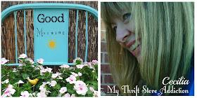 Garden impatiens painted headboard