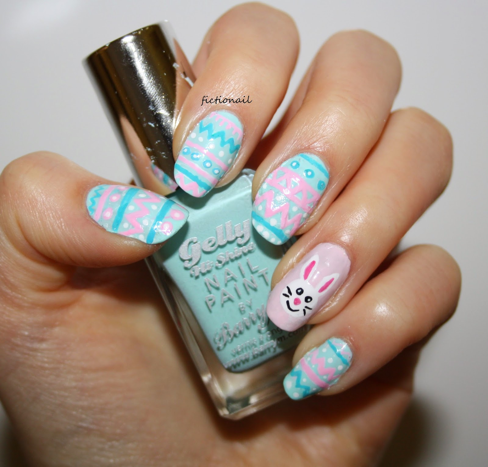 Easter Bunny Nails: Easter Nails