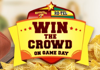Rotel & Rosarita want you to LOVE EVERY LAST BITE and enter daily for a chance to win a Super Bowl sized prize package worth nearly $600, including a Walmart gift card, a slow cooker & a flat screen tv!