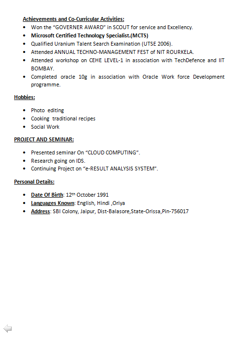 Resume for service engineer in automobile Pinterest