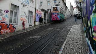 Tranvía de Lisboa. Foto de Teresa Rey.